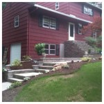 NEW TECHO BLOC STEPS AND RETAINING WALL