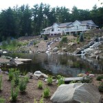 MANMADE POND AND WATER FEATURES